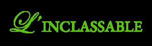 logo vert l'inclassable inesjosseaume